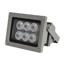 Downlight white light video surveillance 25 m