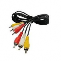 Cable 3 rca macho / 3 rca macho
