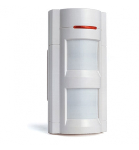 Detector de mobimiento doble infrarojo estanco para exterio.