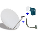 65 CM dish antenna.
