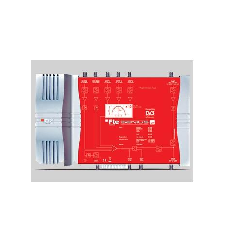Central programable de TDT LTE SAT FTE 123 dB Comunidades