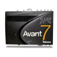 Central Televes de alta ganancia  TDT y FI Satélite, Avant 7 LTE HD