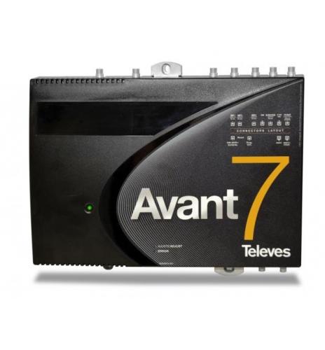 Central High gain amplifier and FI Satellite DTT, Avant 5, Avant hd
