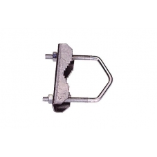 Brida corta mastil M8  ancho 60mm
