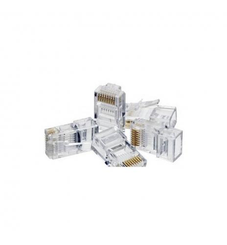 Conector RJ45 bolsa 100 unidades