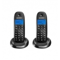 Pareja de Teléfonos fijos sin hilos  Motorola C1002LB+