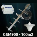 REPETIDOR antena exterior 900MHZ yagi Amplificador de señal GSM