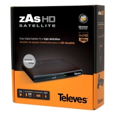 Receptor  de TDT-SAT activaco, Ver la TDT Por satelite en zonas sin cobertura TELEVES