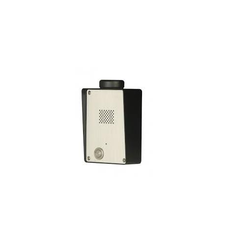 SOLO-NX 1S Portero GSM de 1 botón, Acero inoxidable, llamadas a teléfonos fijos y móviles + FA 14,1V